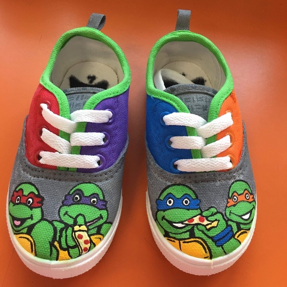 3813836595 Ninja Turtle Shoes - Shoes For Yourstyles